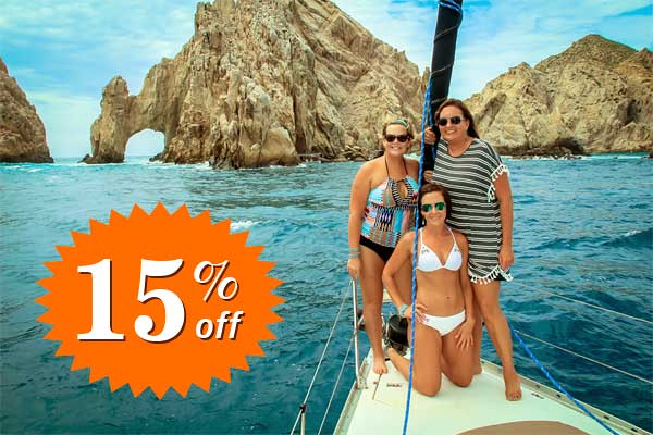 Special Offers - 15% discount on your desired cruise in Cabo San Lucas