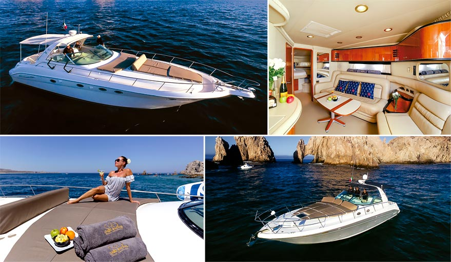 Cabo San Lucas Luxury Sports Yachts Rentals & Cruises