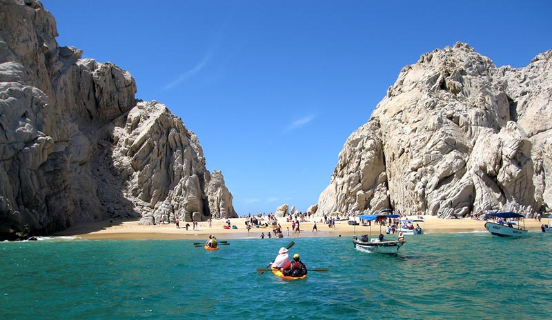 best swimming beaches in cabo, playa de amor, cabo sailing