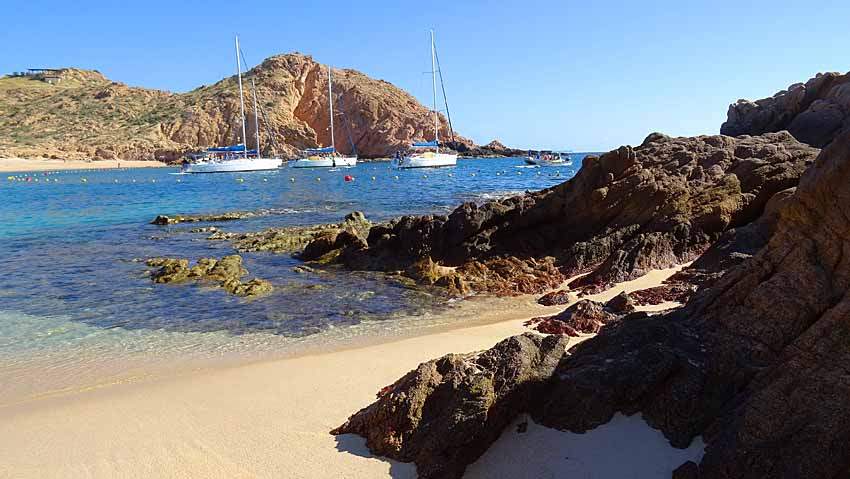 best swimming beaches in cabo, Santa Maria Beach, cabo sailing