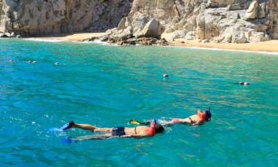 Snorkelando por la Playa del Amor