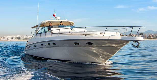 PRO - 46 feet sport cruiser yacht Max. 25 guest