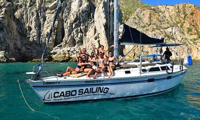 Enjoy sailing snorkeling cruise with friends