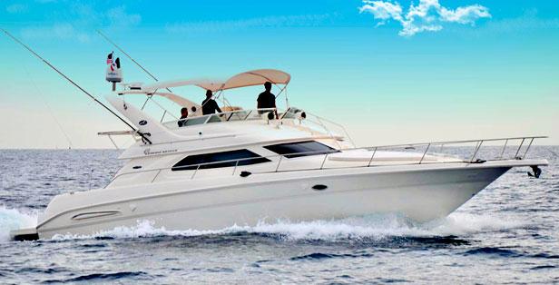 45 feet sport cruiser yacht Max. 25 guest