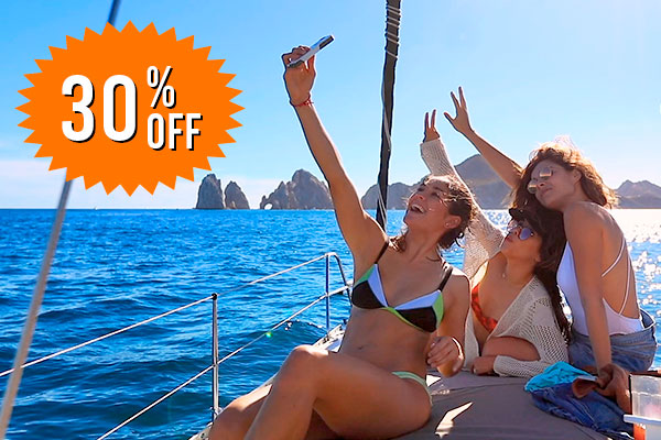 Special Offers - 30% discount on your desired cruise in Cabo San Lucas