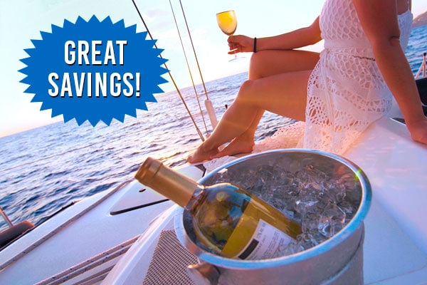 Great savings on your romantic private sunset dinner cruise!