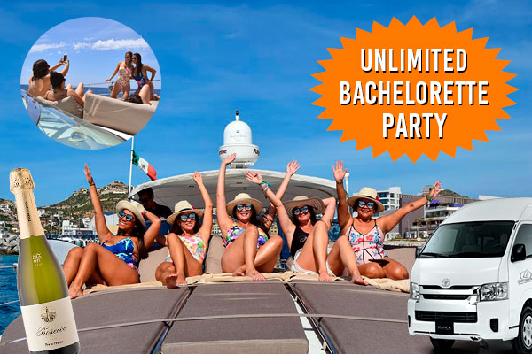 Unlimited Bachelorette Party in a Sailing Yacht or Motor Yacht